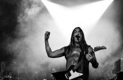 Sångare i ett rockband